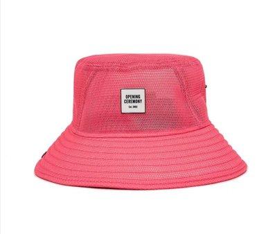現貨 美國正品 Opening Ceremony 粉色 漁夫帽 SNAP FISHERMAN HAT