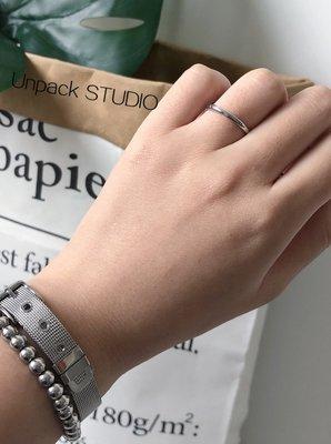 My fit guys 推薦款 簡約 時尚 Unp 細款 單色 光滑 不鏽鋼 戒指 飾品 小戒指 銀 預購