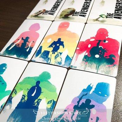 新款 復仇者聯盟 鋼鐵人 美國隊長 黑寡婦 雷神索爾 蜘蛛人 icash 悠遊卡 一卡通 限量 卡貼 水彩畫印 款