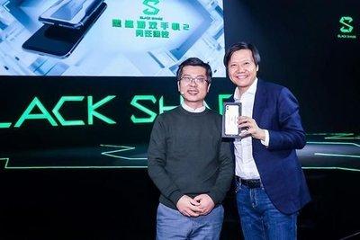 熱賣點小米 MI 黑鯊手機2 Black Shark 2代 s855 6/8/12 128/256 遊戲手機    生為競技 黑/銀 mj