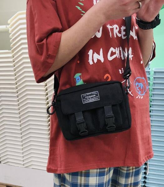 FINDSENSE X  男女旅行手機包男女斜挎單肩學生百搭網紅小包