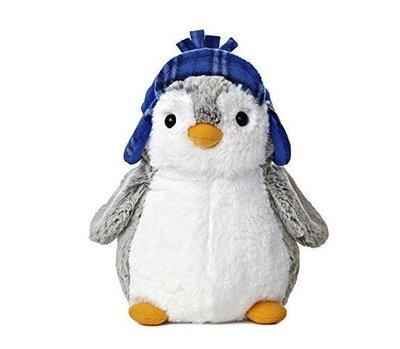 3741A 歐洲進口 限量品 戴帽企鵝絨毛娃娃玩偶 可愛國王企鵝娃娃動物抱枕擺飾小朋友玩具玩偶娃娃禮物