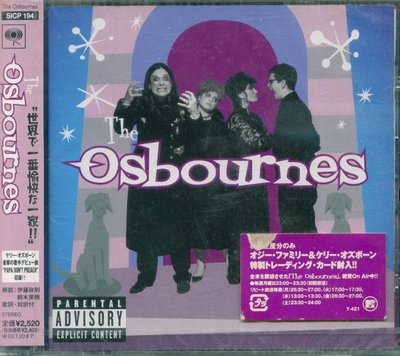 K - The Osbourne Family Album 奧茲奧斯朋家族電視秀 - 日版 +1BONUS - NEW