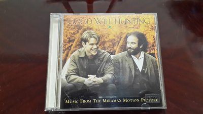 【心靈捕手】- Good Will Hunting 專輯 附歌詞~電影原聲帶唱片【CD】