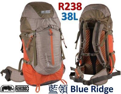 【山野賣客】犀牛 R238 登山背包 38L 藍領 Blue Ridge 登山 露營 健行 後背
