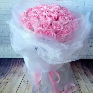 情人節禮物創意生日禮品婚禮手捧花送男女友愛人母親節禮物香皂花