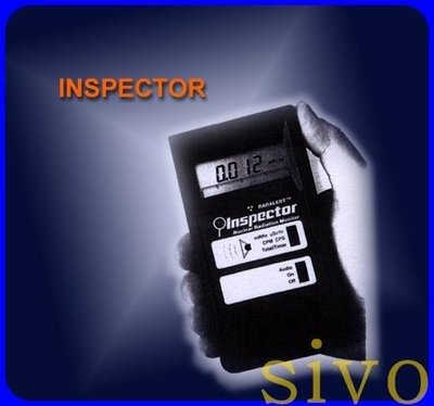 美國 INSPECTOR 放射性核輻射偵測器 Radiation Alert 原子能放射偵測器~