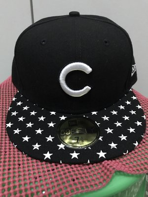 NEW ERA MLB 59FIFTY STARRY CAP CUBS 小熊 棒球帽 正品
