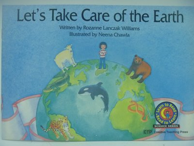 【月界二手書店】Let's Take Care of the Earth-Read to Learn 〖少年童書〗CEP