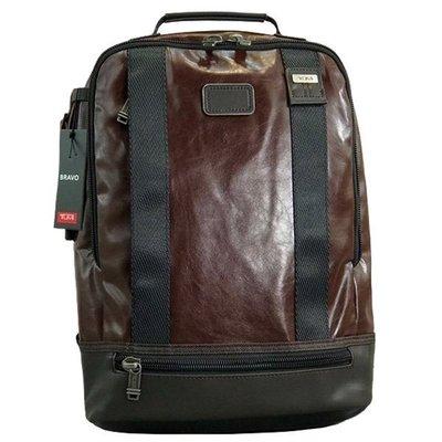 皮藏客 TUMI/途米 JK487 男女款 商務電腦包後背包 時尚休閒雙肩包 大容量旅行運動背包 牛皮真皮