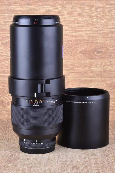 【品光數位】CONTAX Tele-Apotessar Carl Zeiss T* 350mm F4 大砲 定焦 望遠 645用 #31015J