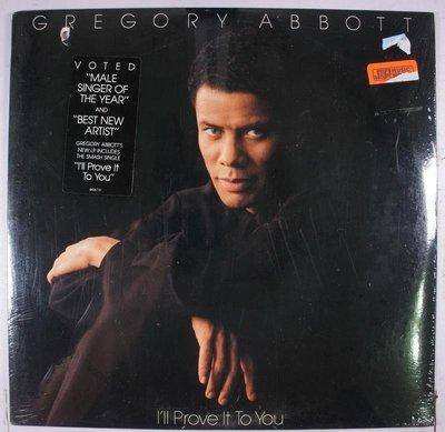 《全新美版黑膠》Gregory Abbott – I'll Prove It To You