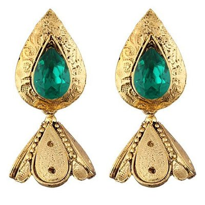 印度舞界 耳環 Gold Plated Jhumki Earrings