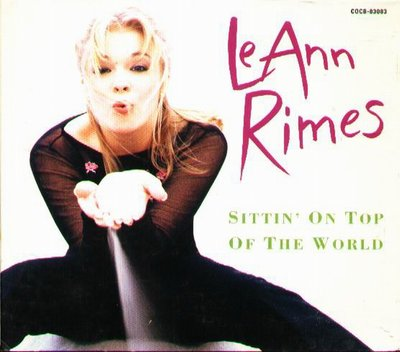 K - LeAnn Rimes - SITTIN' ON TOP OF THE WORLD - 日版 +1BONUS