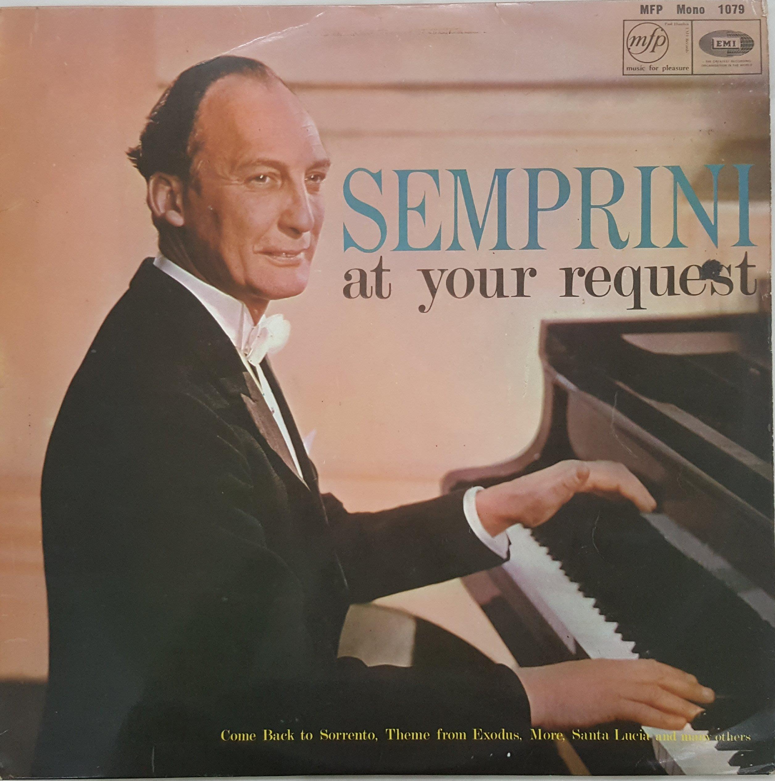 {夏荷 美學生活小舖}古典黑膠 Semprini At Your Request