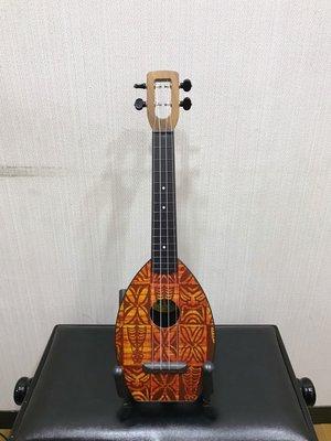 三一樂器 The Flea M40 23吋 烏克麗麗 彩繪