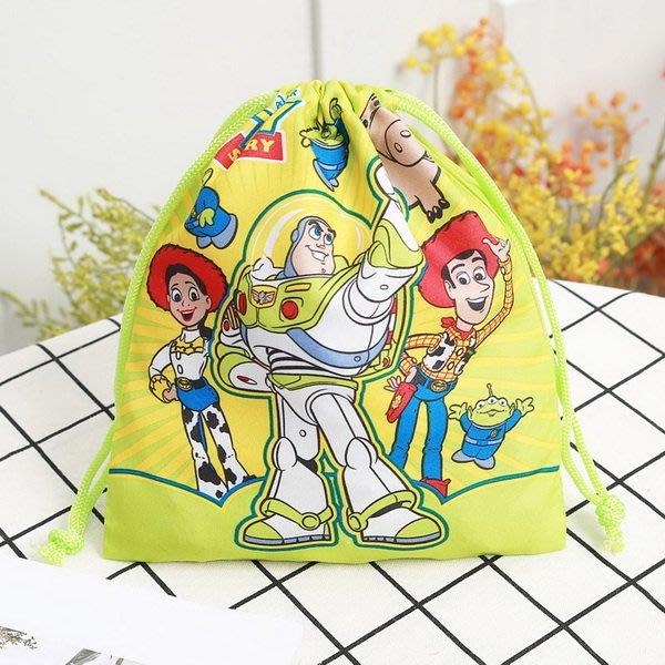玩具總動員TOY STORY巴斯光年、胡迪、翠絲款兩面不同圖小束口收納袋(20*17cm)搶鮮特價49元/個