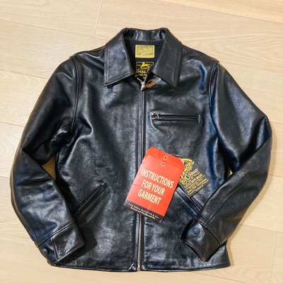 The real mccoys 30's sports jacket 馬皮皮衣 timeworn clothing