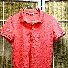【R的雜貨舖】【媽媽二手衣】桃粉紅短袖POLO杉