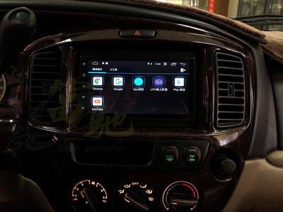 富馳汽車音響 馬自達 TRIBUTE 音響改裝 JHY M3 PRO 7吋安卓導航影音主機