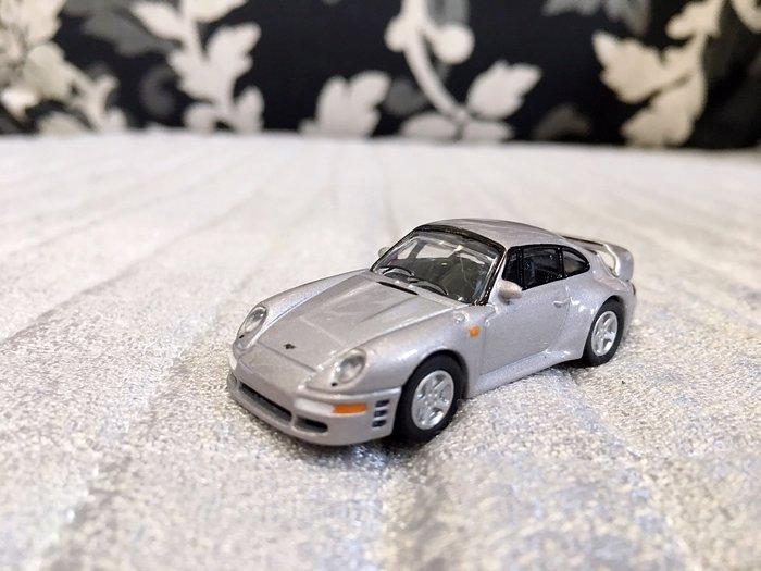 日本發行 絕版收藏小車 1/72 RUF CTR2 Porsche 993 為基礎
