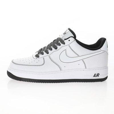 Nike AF1 Force 1 x Uninterrupted AF1 聯名 黑白 馬克筆 CN2896 104 黑線免運