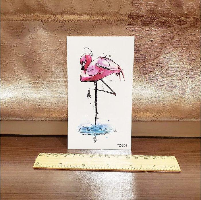 【萌古屋】火鶴 - 男女防水紋身貼紙刺青貼紙 K62
