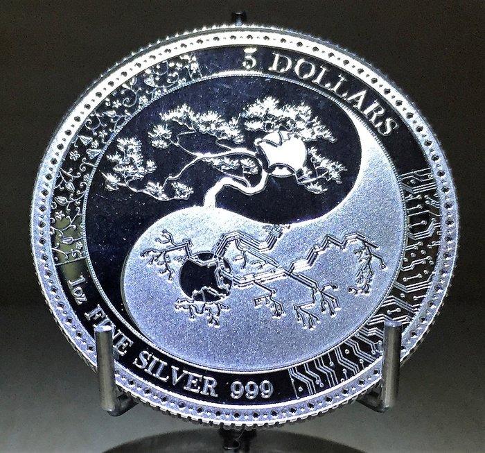 2018 Tokelau Silver Equilibrium 托克勞-平衡銀幣 (1 toz)