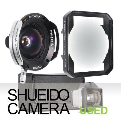 集英堂写真機【3個月保固】美品 CONTAX ZEISS 蔡司 HOLOGON T* 16mm F8 鏡頭 18142