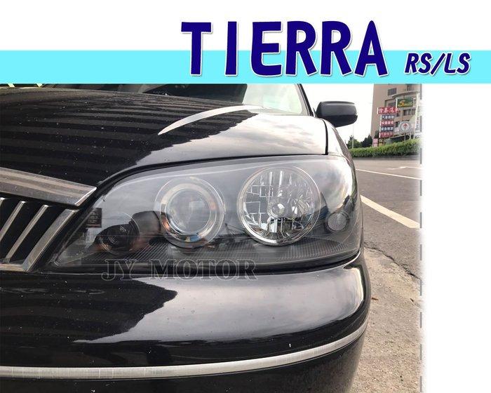 小傑車燈精品--全新 FORD TIERRA LS RS SE XT 05 06 07 08 年 黑框 頭燈 大燈