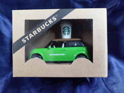 星巴克DT 咖啡車尺寸8.4*4.2*5.8cm