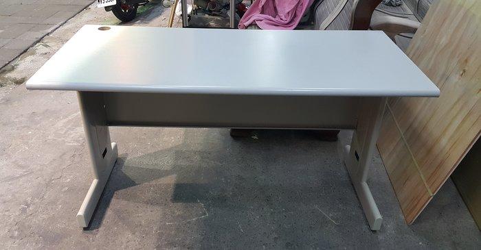 樂居二手家具 CE1024AJB 白面辦公桌 OA桌 會議桌 洽談桌 書桌 電腦桌 工作桌 邊桌