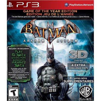 (現貨全新) PS3 蝙蝠俠 小丑大逃亡 年度合輯英文美版(BATMAN ARKHAM ASYLUM)