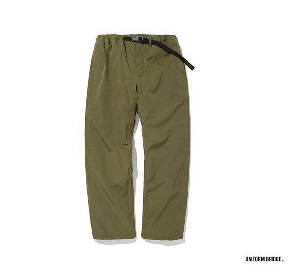 GOODFORIT / 韓國UNIFORM BRIDGE Padded Strap Pants休閒防風長褲/兩色
