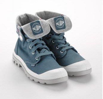 costco代購 Palladium 女款輕量帆布休閒鞋 Lite系列 淺藍  us5.5