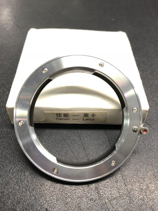 【eWhat億華】Leica R 鏡頭轉 Canon EOS 機身轉接環 適用 7DII 6DII 80D 70D 800D 760D 等