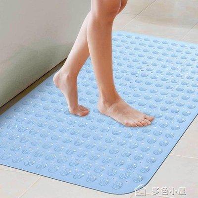 ZIHOPE 升級加厚浴室防滑墊 帶吸盤淋浴房腳墊衛生間地墊無味洗澡墊ZI812