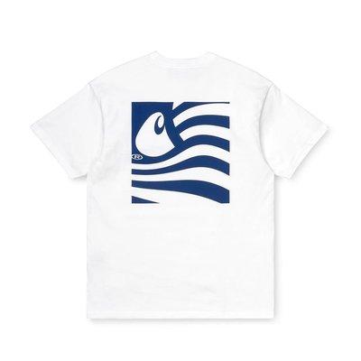 【W_plus】CARHARTT 20AW - S/S Waving State Flag T-shirt