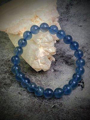 藍螢石手珠(A73)──約8mm
