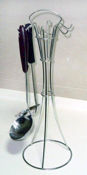 ☆成志金屬廠 ☆ s-76 -1A 不鏽鋼6勾湯匙架 馬克杯架