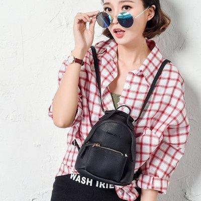 NYCT 韓國高品質限定原創 歐美熱賣頂級百搭時尚原創設計款可斜挎包2016新款韓版女背包時尚小雙肩包真皮女式包袋
