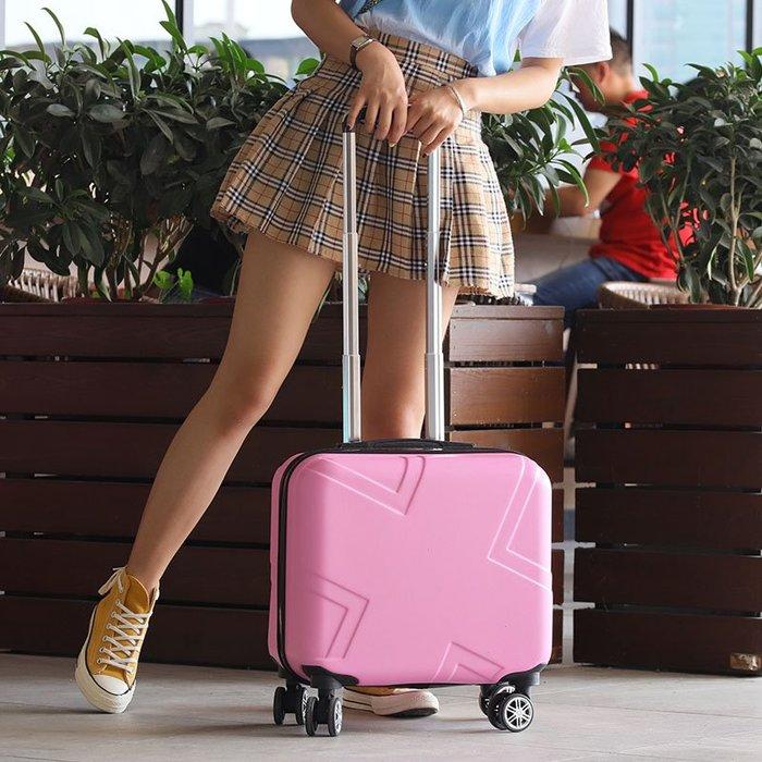 旅行拉桿箱 登機 登機箱女18寸網紅行李箱小型輕便拉桿箱密碼旅行箱男韓版小清新潮