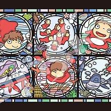 日本正版拼圖 吉卜力 宮崎駿 崖上的波妞 208片透明塑膠拼圖,208-AC26
