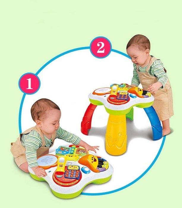 【阿LIN】 205870 91102 阿貝魯趣味學習桌 遊戲桌 益智學習桌 多功能學習桌 寶寶學習桌 早教