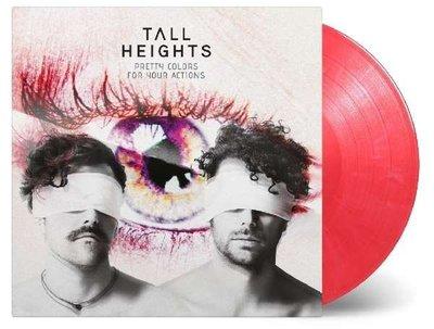 【彩膠唱片LP】漂亮的行動(首批限量彩膠) / 高個子樂團 Tall Heights---MOVLP2273