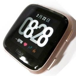 【行車達人】FITBIT VERSA 智能運動手錶 【玫瑰金/桃色表帶/情人/暖男必備】