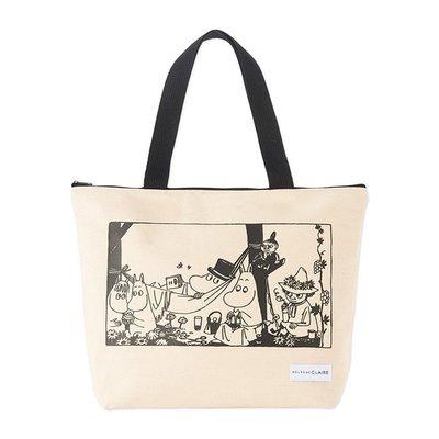 [瑞絲小舖]~日雜附錄MOOMIN慕敏家族×MELROSE claire托特包 單肩包 手提袋 環保包 購物袋 通勤包