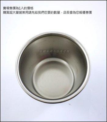 白鐵本部㊣台灣製造『#304不鏽鋼米糕筒3.5寸/1個』不銹鋼排骨筒/燉筒/茶碗蒸/副食品/布丁杯/雞湯/口杯/米糕桶
