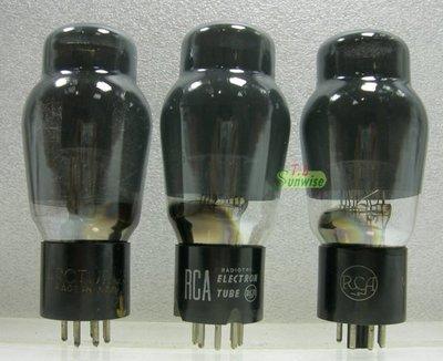 【人客來坐】6L6 ︽NO:7173 老美國 RCA / ARCTURUS 6L6G 塗墨瓶身 方環 葫蘆形 3支