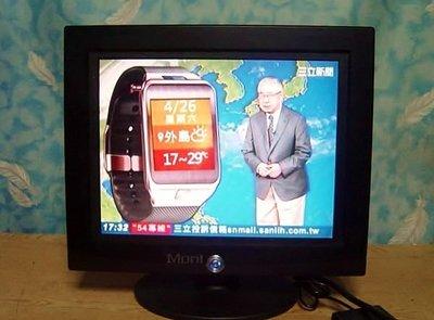 Y保固3個月【小劉二手家電】12吋液晶電視,有AV端子,也外接監視器/DVD,附萬用遙控器